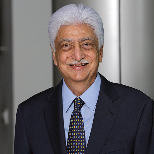 Azim Premji  Azim Hashim Premji (born 24 July 1945) is an Indian business tycoon, investor, engineer, and philanthropist, who was the chairman of Wipro Limited.